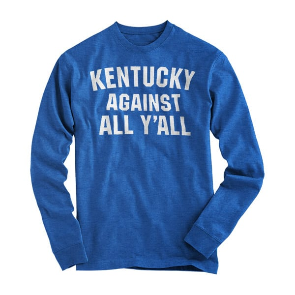KY Against All Y'all L/S Tee