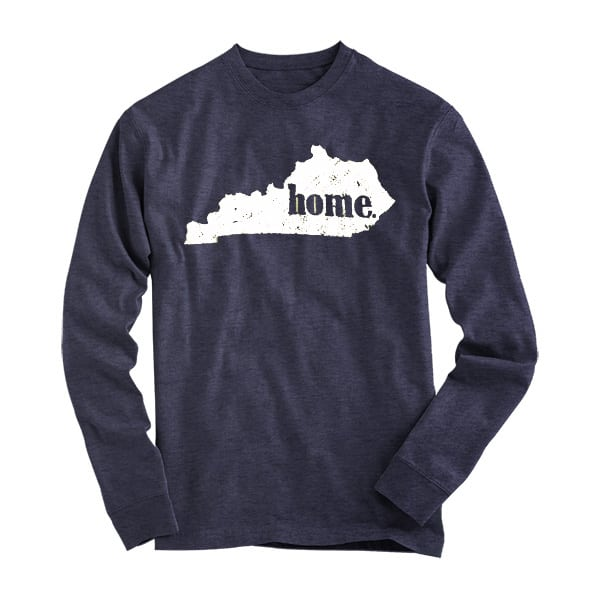 Mens Home in State L/S Tee