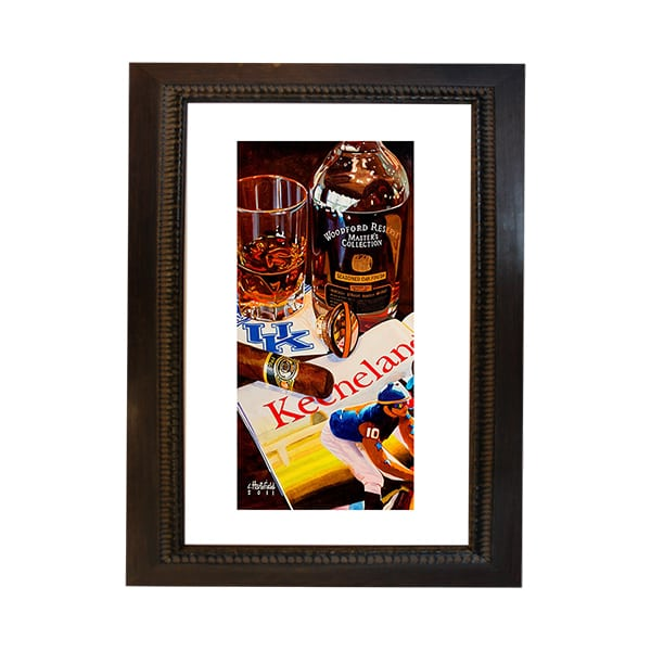 Kentucky Faves Frame 12x20 Kentucky Branded