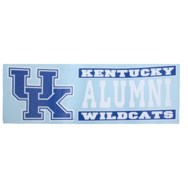 UK Alumni Strip Decal 6″
