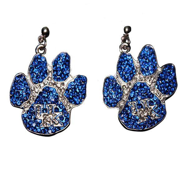 UK Paw Crystal Earring