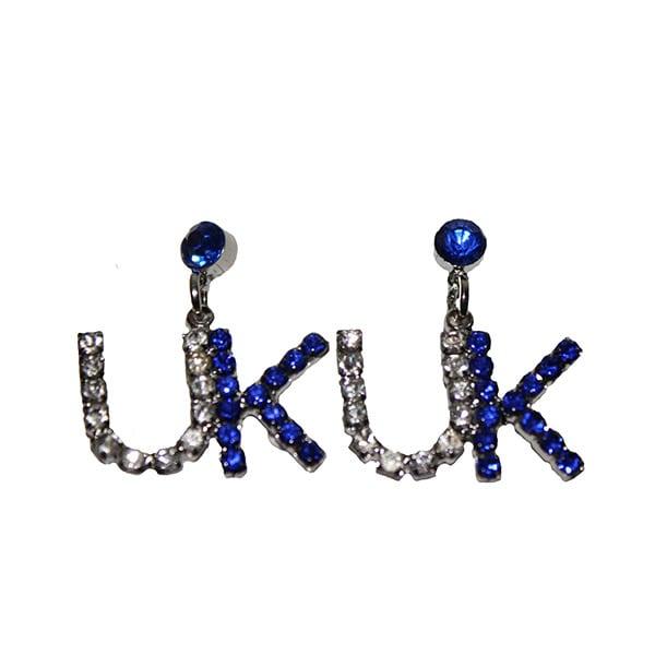 UK Dangle Earring W/ Stones