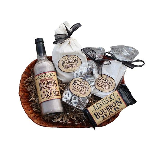 Bourbon & Chocolate Basket