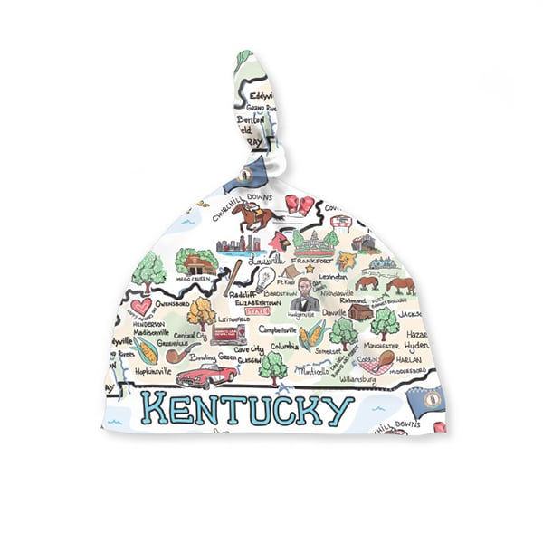 KY Map Baby Hat
