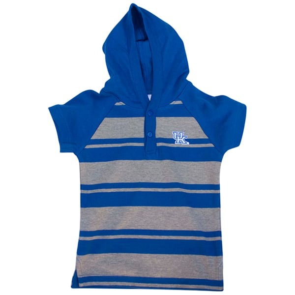 UK Kids S/S Hooded Shirt