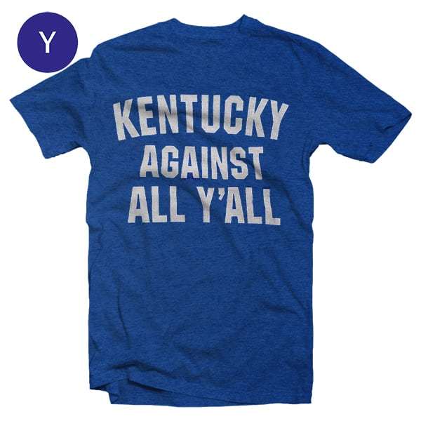 s/s Kids Ky Against All
