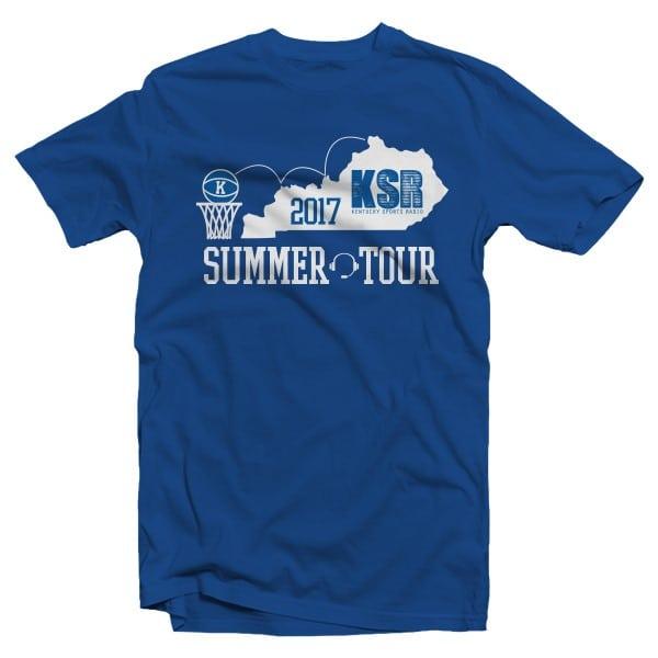 KSR Summer Tour 2017 Tee