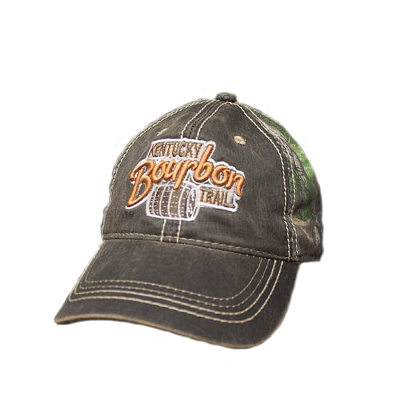 Camo/oil cloth kbt hat