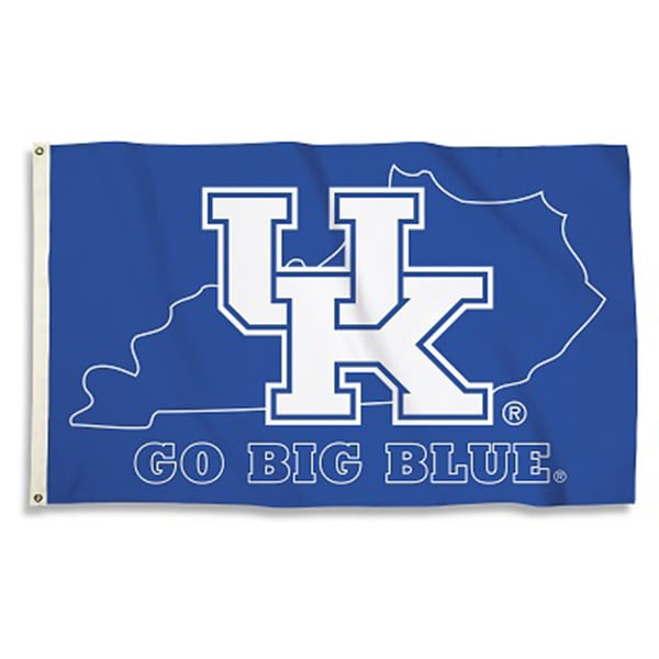 UK Go Big Blue State 3'x5'Flag