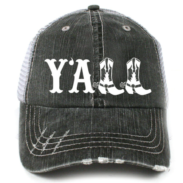 Y'all Boots Hat