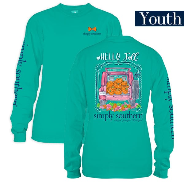 SS Youth Hello Fall L/S