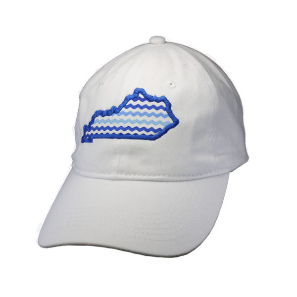 KY Royal/White Wave Hat
