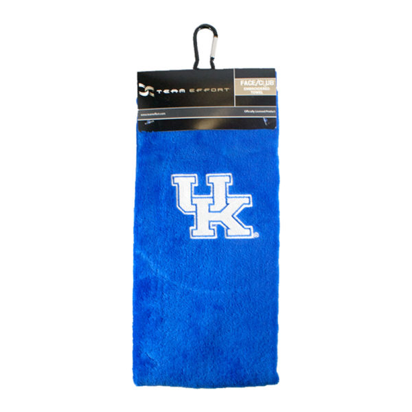 UK Embroidered Golf Towel