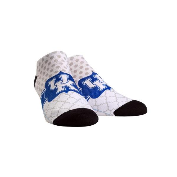 UK Quatrefoil Dot Low Cut Sock