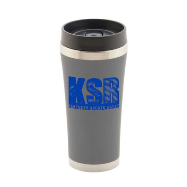 KSR Grey JV Travel Tumbler