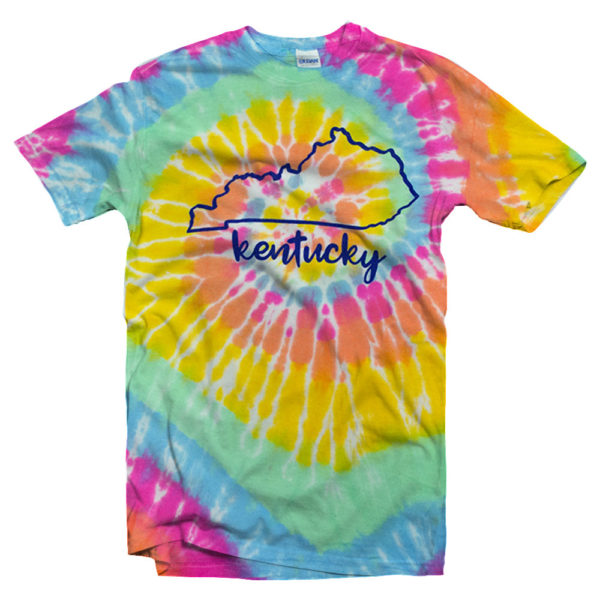 S/S KY State Tiedye Tee