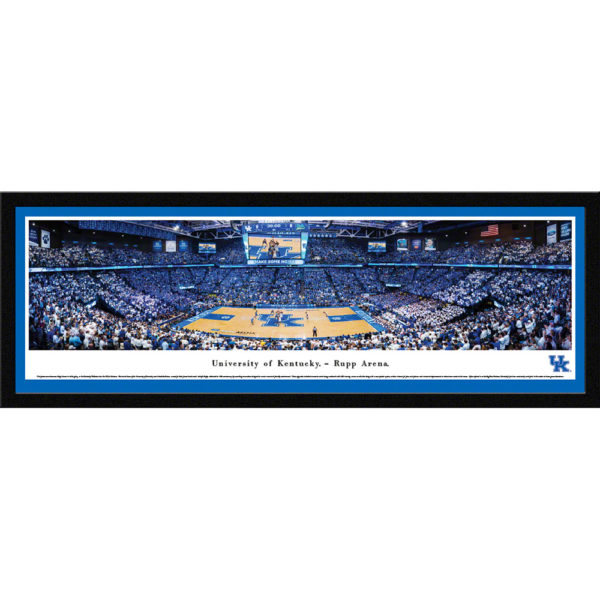 UK Basketball Framed
