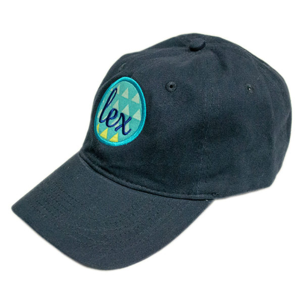 LEX Patch Teal Triangle Hat