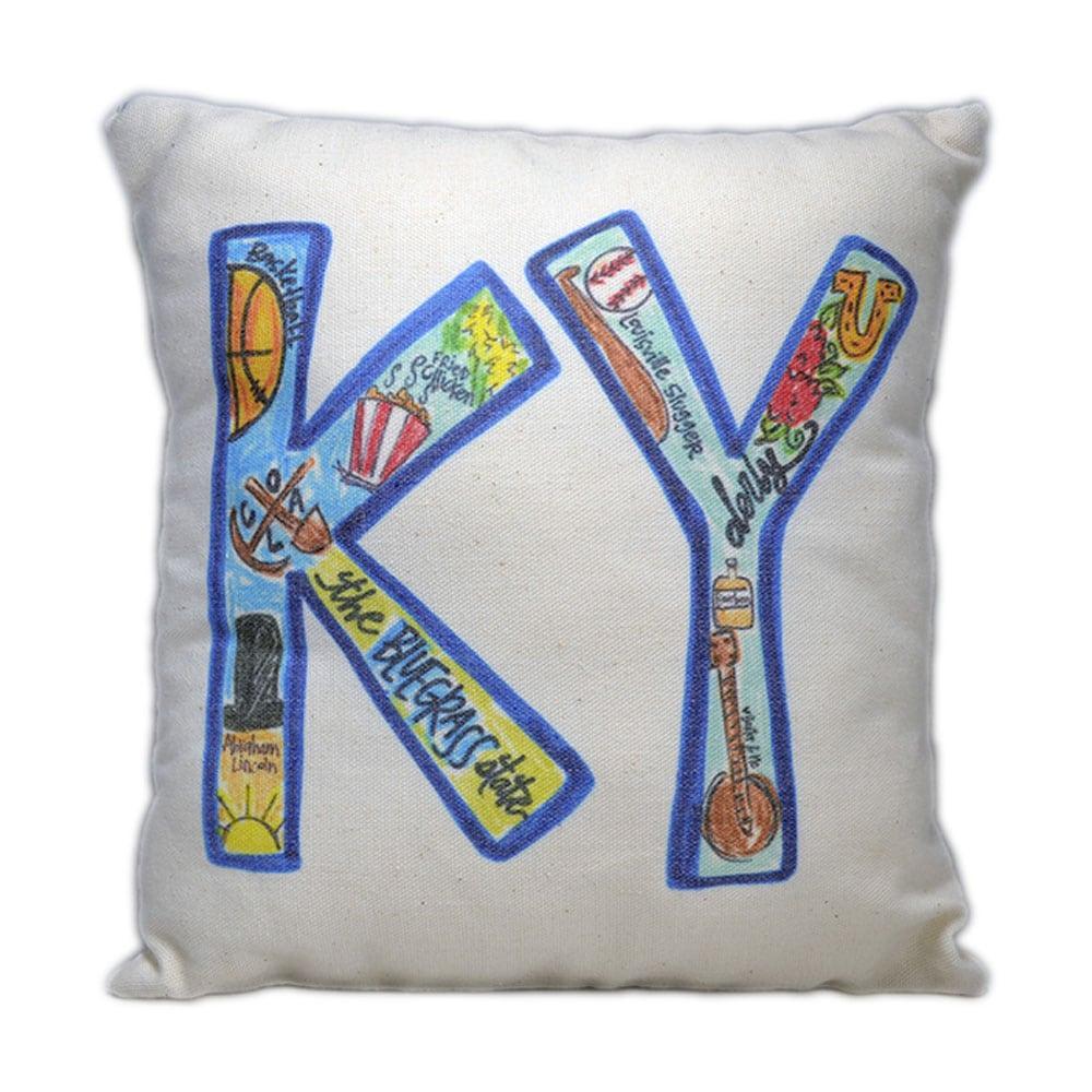 KY Abbreviation Pillow
