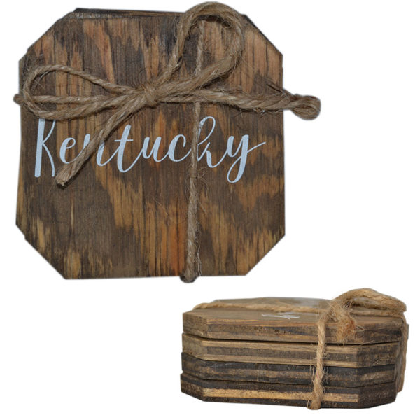 Kentucky Wood Coasters (4)