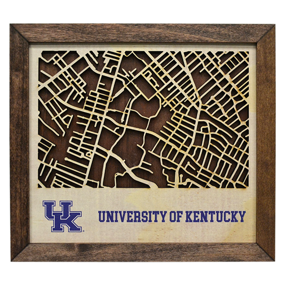 Kentucky Campus Map.Uk Campus Map Kentucky Branded