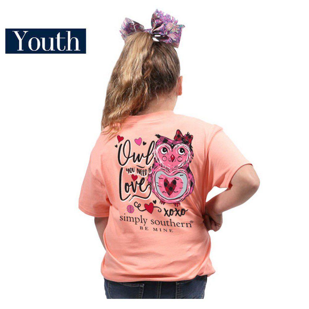 b798f34b8562e7 SS Youth Owl You Need Love S S - Kentucky Branded